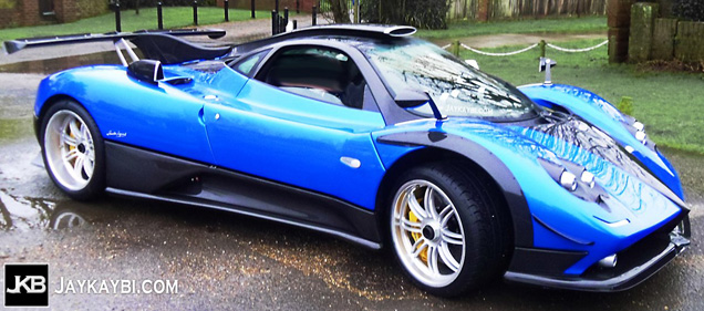 This is the new Pagani Zonda PS