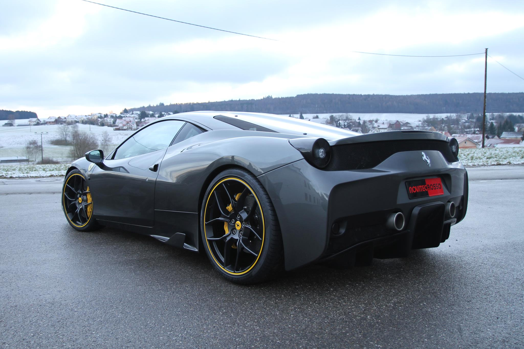 Novitec Rosso Isn T Ready With The Ferrari 458 Speciale Yet