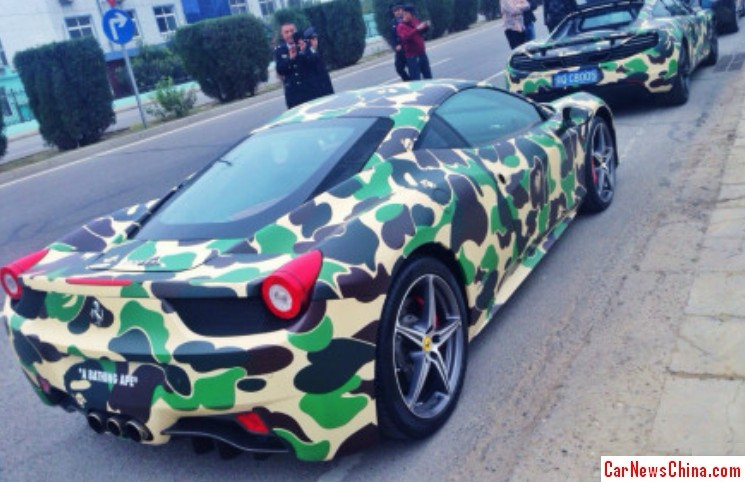 Bape Style Seems To Be Popular In Asia
