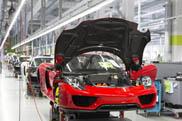 De 4.000 vierkante meter en de 100 uren van de Porsche 918 Spyder