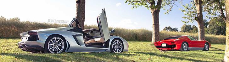 Fotoshoot: Lamborghini Days in Zwitserland