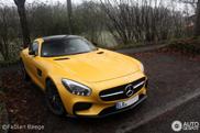 D'autres détails de la Mercedes AMG GT R