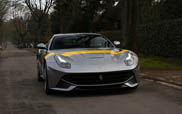Ferrari F12berlinetta Tour de France 64 shines on Dream cars expo