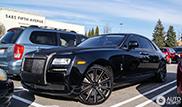 Deze Rolls-Royce Ghost is op en top Amerikaans