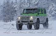 Spyshots: Mercedes-Benz G 63 AMG 4x4