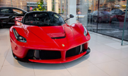 First LaFerrari arrived in Moscow