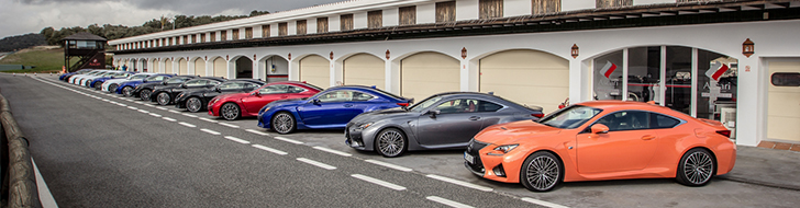 Photo report : Lexus RC F introduction on Ascari Racetrack