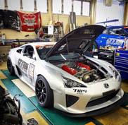 Heiligschennis, V8 in Lexus LFA