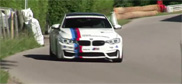 Filmpje: Hillclimb doen in een BMW M4 F82 Coupé als een baas