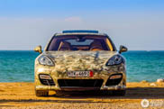 Camouflaged Porsche Panamera Turbo S spotted in Morocco