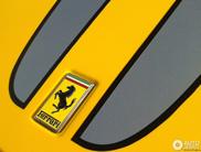 Spot van de dag: Kanariegele Ferrari 430 Scuderia