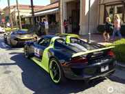 Spotted: colourful hypercar duo