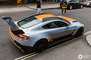 Aston Martin Vantage GT12 in the center of London