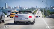 Gespot in Miami: Bentley Continental GTC in zijn element