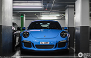 Spotted: baby blue Porsche 991 GT3 RS