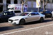 Aston Martin Lagonda shows up in Paris