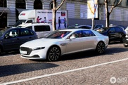 Aston Martin Lagonda shows up in Paris