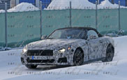 BMW Z5 is taken outside for the first time