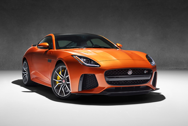 Jaguar F-TYPE SVR officieel aangekondigd
