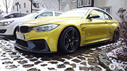Spotted: BMW M4 Coupé 3D Design