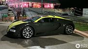 Heerlijke Bugatti Veyron 16.4 Grand Sport Vitesse op Porto Cervo