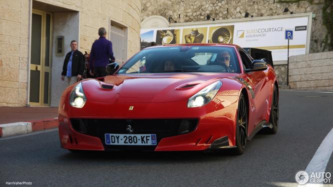 All Color Vans: All The Colors Of The Rainbow: Ferrari F12tdf