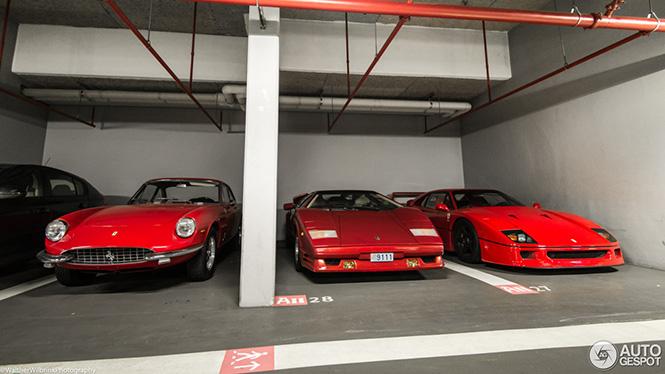 Lamborghini Countach heeft een nieuw kamergenootje
