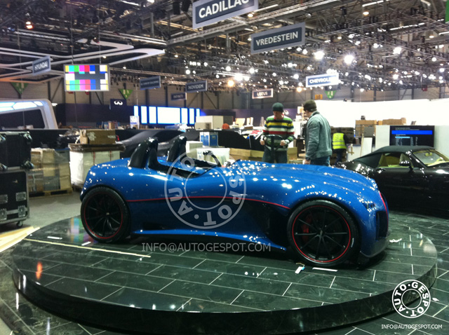 Sneak preview Autosalon Genève: Wiesmann Concept Roadster