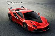 Rendering: Ferrari 488 GTB with FXX package