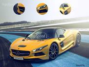 Rendering: Mercedes-AMG's hypercar