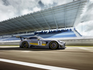 Naturally aspirated 6.3 liter V8 lives on in Mercedes-AMG GT3