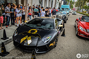 Remarkable Lamborghini #Batventador draws attention in Beverly Hills