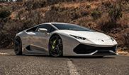 Bengala maakt Lamborghini Huracán LP610-4 lekker dik