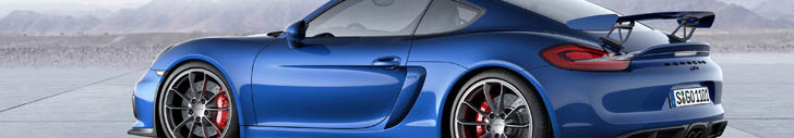 Porsche Cayman GT4 is sporty and very raw