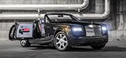Phantom Drophead Coupe Nighthawk: duister en sierlijk