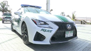 Movie: Dubai Police adds Lexus RC F to their fleet