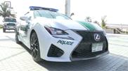 Movie: Dubai Police adds Lexus RC F to their fleet