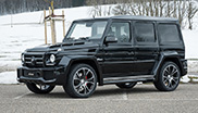 FAB Design shows tuned G 63 AMG