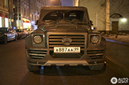 Carbon fiber brute spotted in Moscow