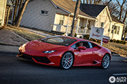 Beautiful Lamborghini Huracán LP610-4 spotted in the United States