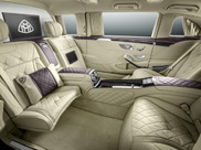 Le luxe ultime de la Mercedes-Maybach Pullman