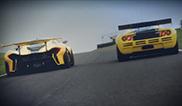 McLaren P1™ GTR meets the iconic McLaren F1 GTR