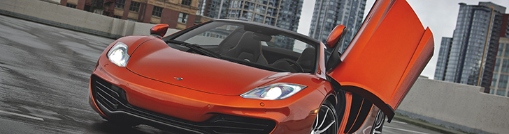 Photoshoot: McLaren 12C Spider in Vancouver