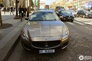 Spotted: Maserati Quattroporte Ermenegildo Zegna Limited Edition