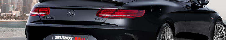 Brabus stopt 850 pk in de S 63 AMG Coupé