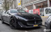 Spot van de dag: Maserati GranCabrio MC