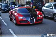How many Veyrons did Bugatti produce?
