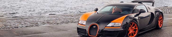 Special: the limited Bugatti Veyrons
