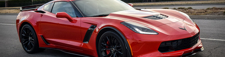 Eerste Corvette C7 Z06 in Amerika is knalrood