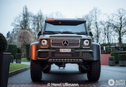 Topspot: Mercedes-Benz G63 AMG 6x6 in legertintje